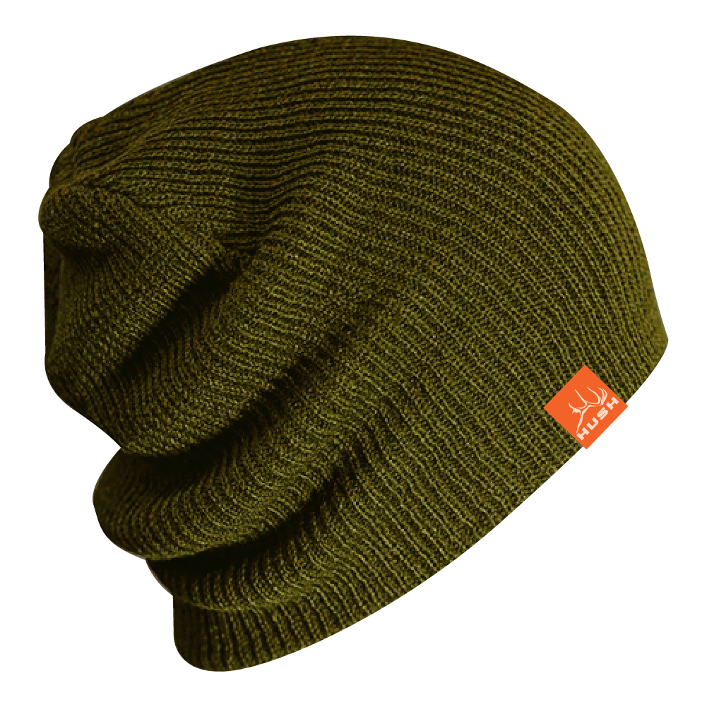 Army olive stouch beanie