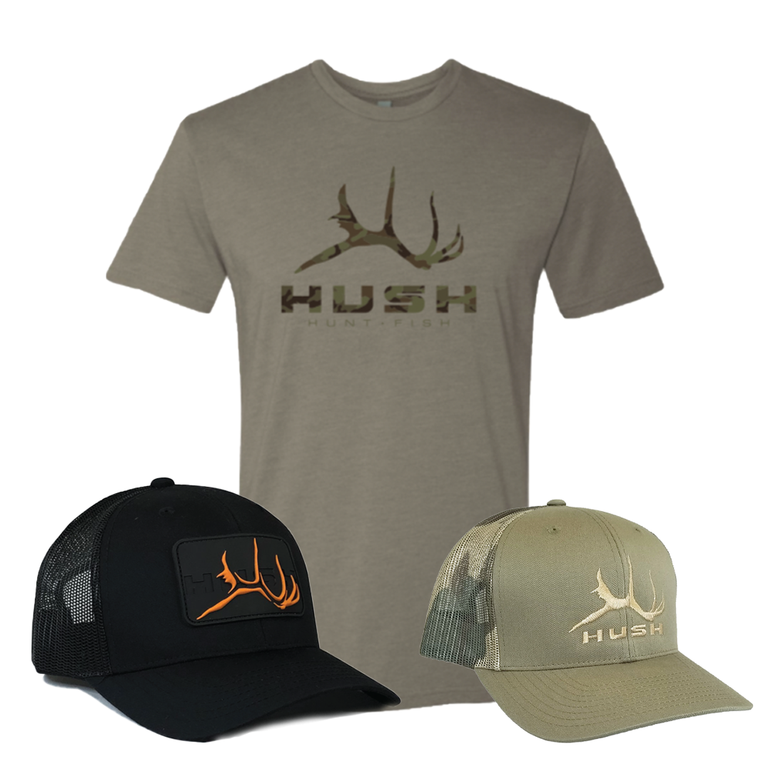 zion hat and camo block shirt discounted bundle
