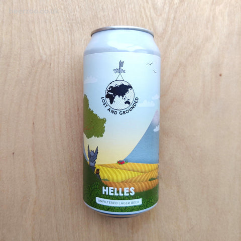 Lost & Grounded - Helles 4.4% (440ml)