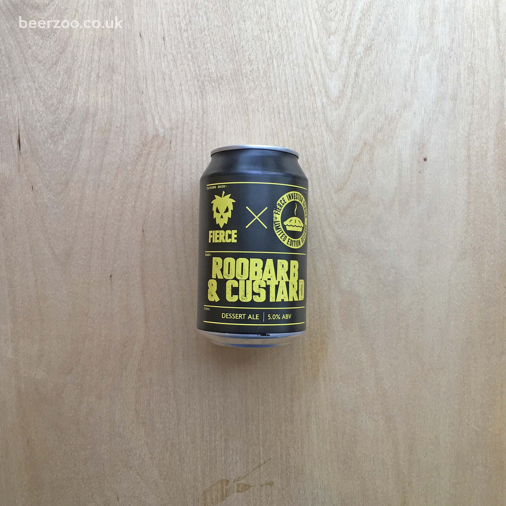 Fierce - Rhoobarb and Custard 5% (330ml)
