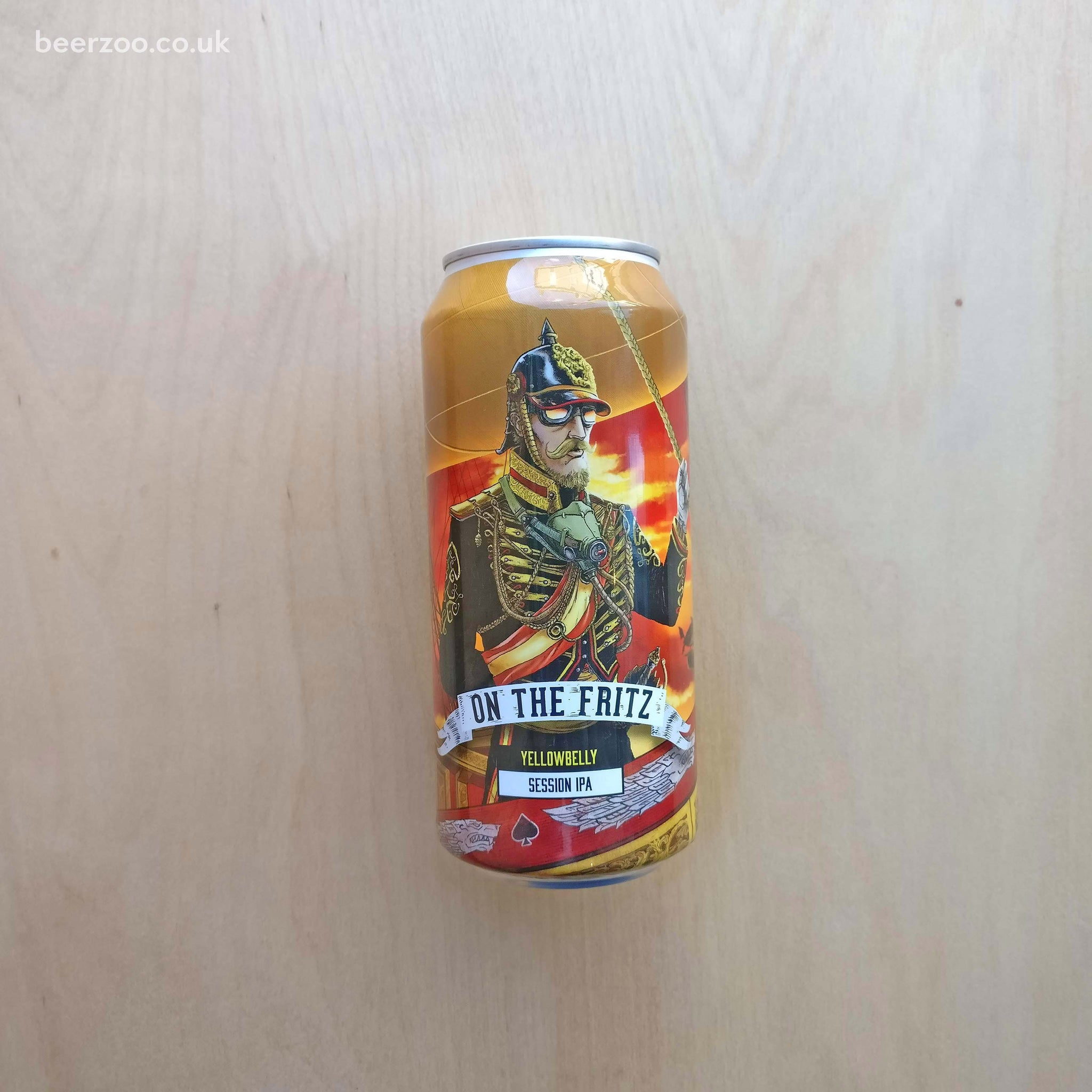 YellowBelly - On The Fritz 4.5% (440ml)