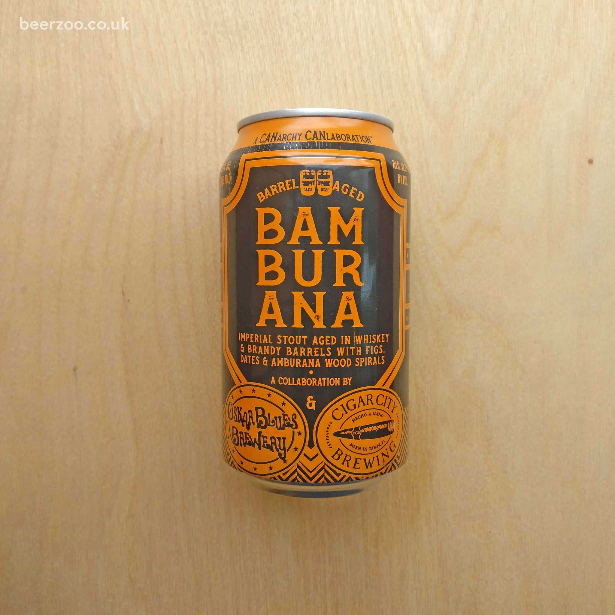 Cigar City / Oskar Blues - Bamburana 12.2% (355ml)