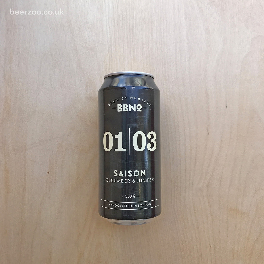 BBNo 0103 Cucumber & Juniper Saison 5.2% (440ml)