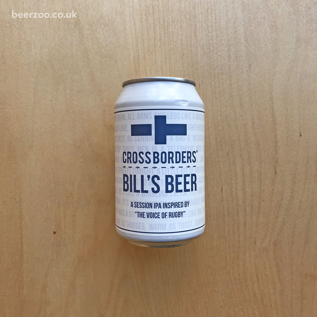 Cross Borders Bill's Beer 4.2% (330ml)