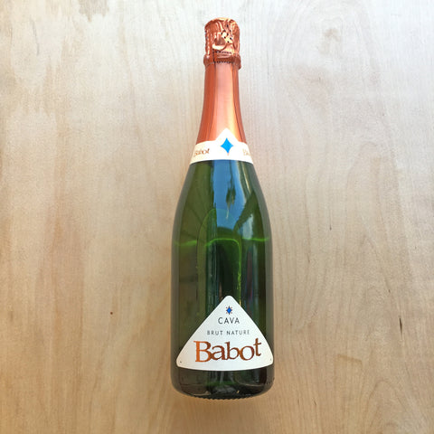 Babot Cava Brut Nature 11.5% (750ml)