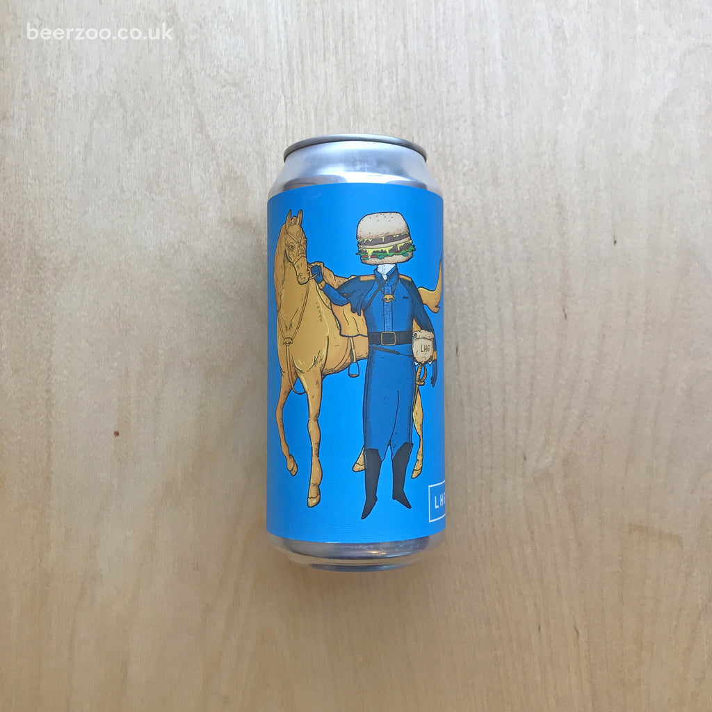 Left Hand Giant Double Cheeseburger Cavalry 8.8% (440ml)