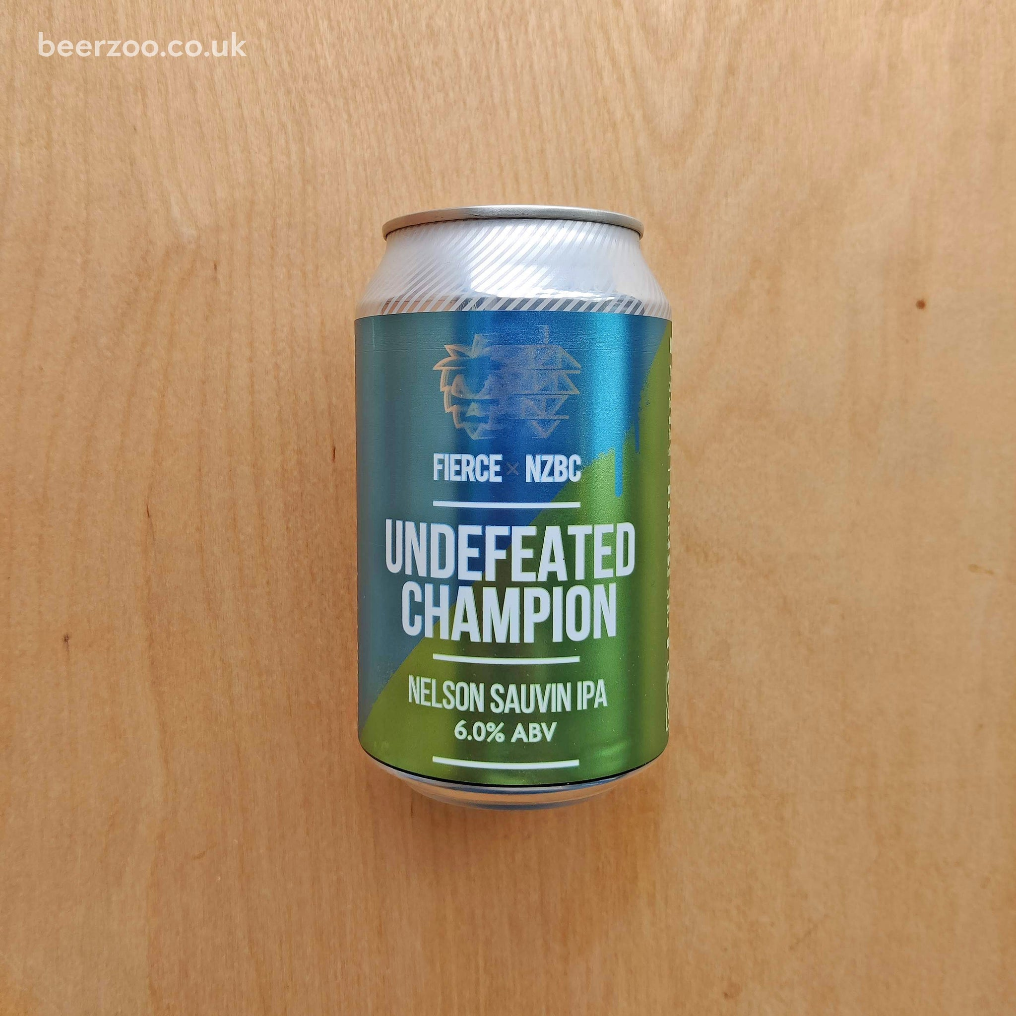 Fierce / NZBC - Undefeated Champion 6% (330ml)