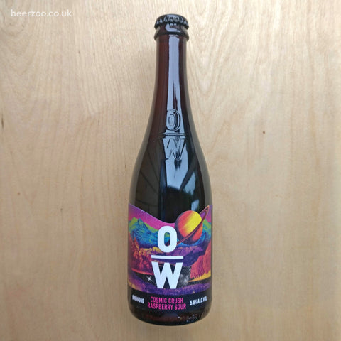 Overworks - Cosmic Crush Raspberry Sour 5.6% (500ml)