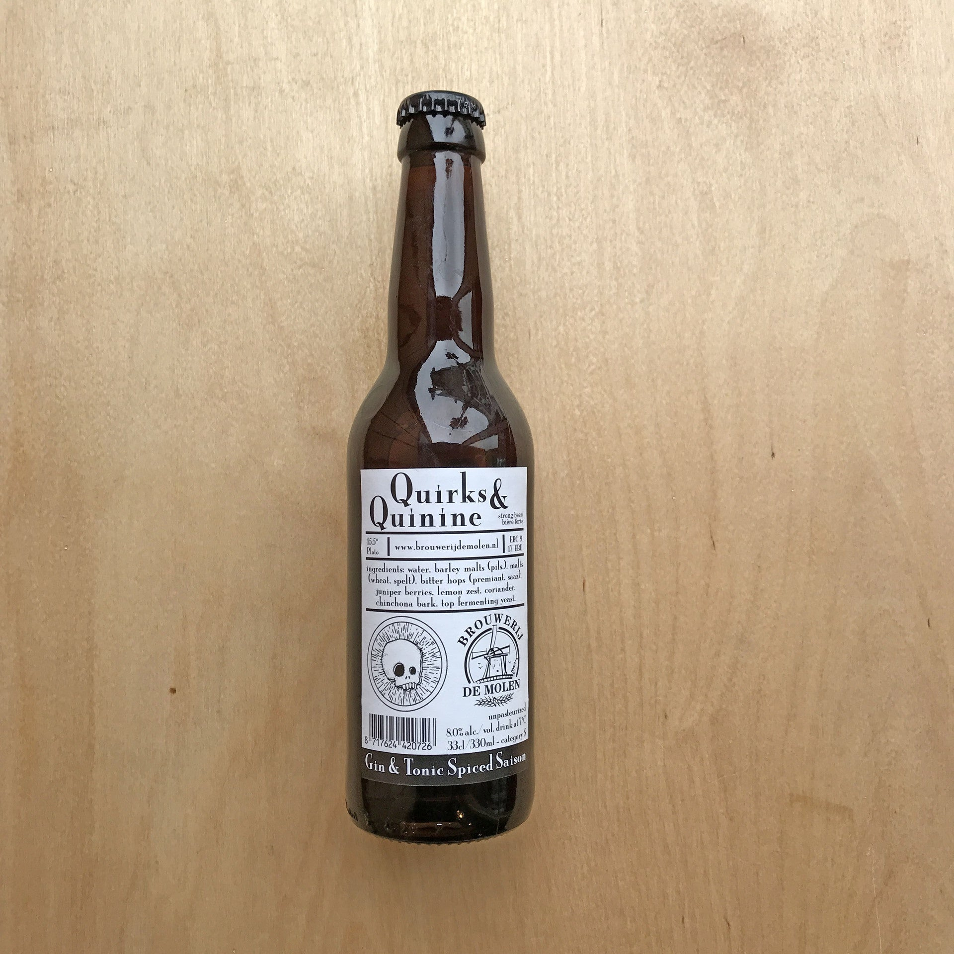 De Molen / Beavertown Quirks & Quinine 8% (330ml)