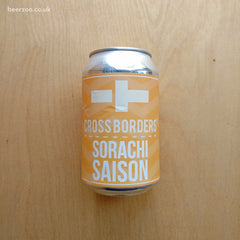 Cross Borders - Sorachi Saison 4.6% (330ml)