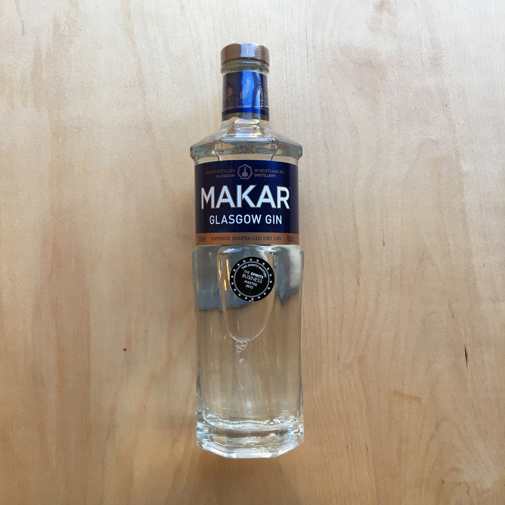 Makar Glasgow Gin 43% (700ml)