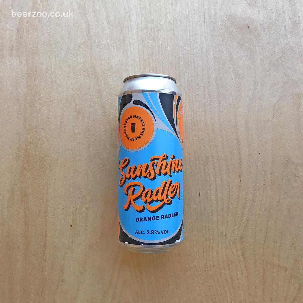 Marble / Slim Pickens Sunshine Radler 2.8% (500ml)