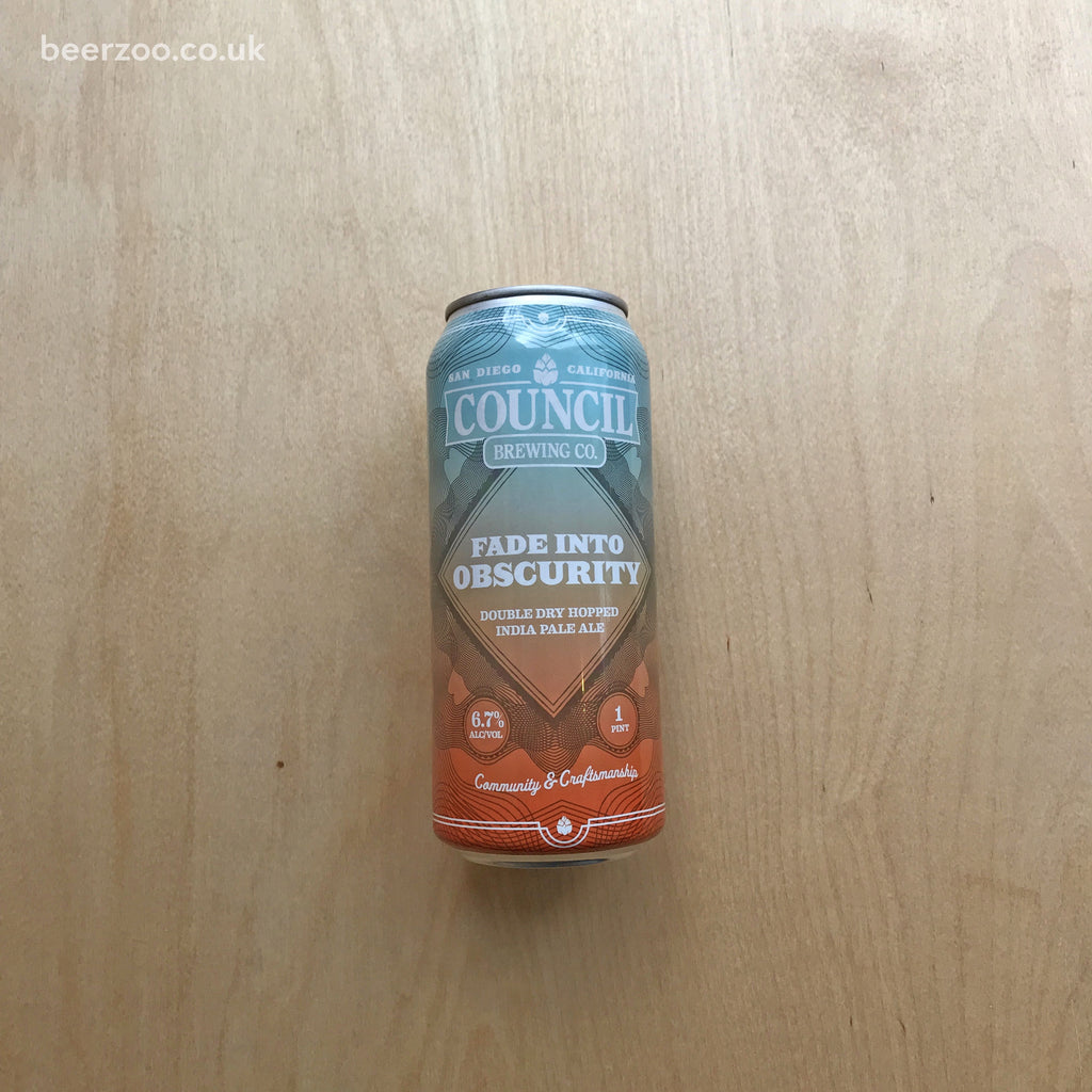 Council Fade Into Obscurity 6.7% (473ml)