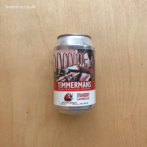Timmermans Strawberry Lambic 4% (330ml)