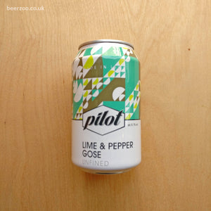 Pilot - Lime & Pepper Gose 5.1% (330ml)