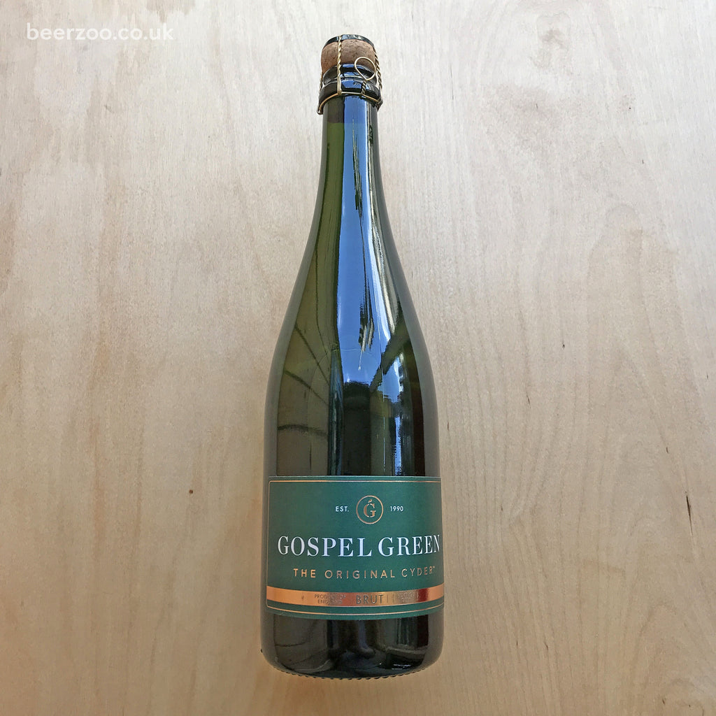 Gospel Green Vintage Brut Cider 2016 8.4% (750ml)