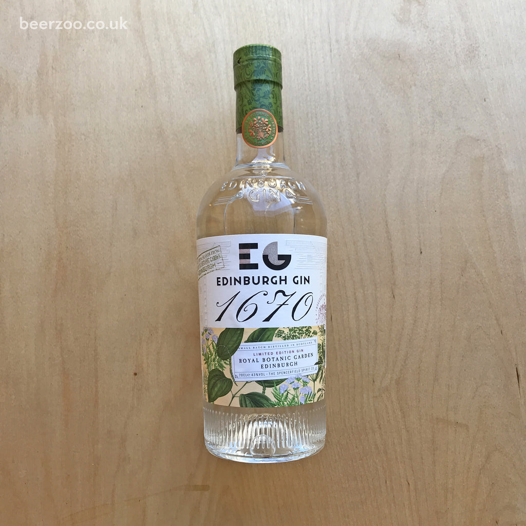 Edinburgh Gin 1670 43% (700ml)