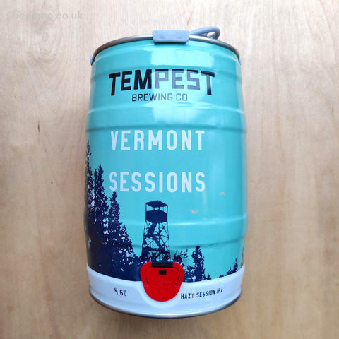 Vermont Sessions Mini Keg (Shipping Paid) 4.6% (5L)