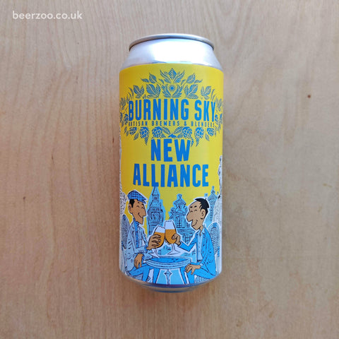 Burning Sky / De La Senne - New Alliance 4.5% (440ml)