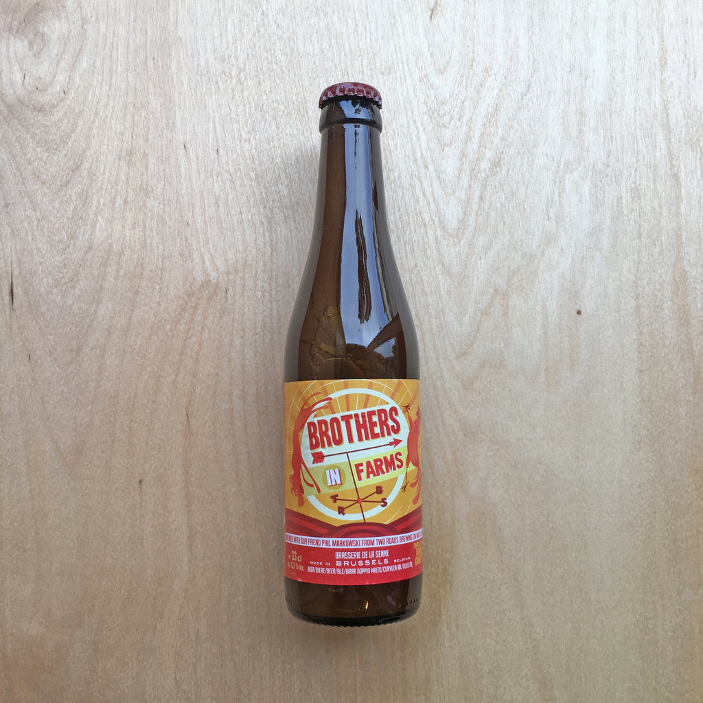 Brasserie De La Senne / Two Roads Brothers in Farms 6.5% (330ml)