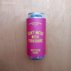 Northern Monk - Rhubarb & Custard Don't Mess With Yorkshire 4.5% (440ml)