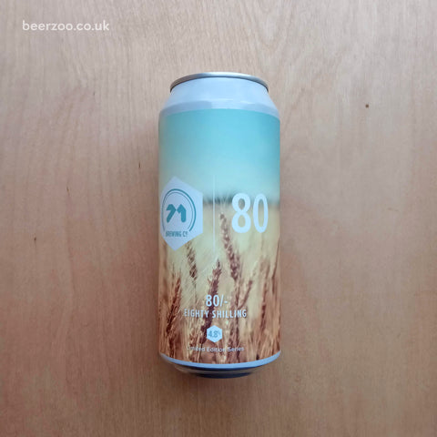 71 Brewing - 80 Shilling 4.8% (440ml)