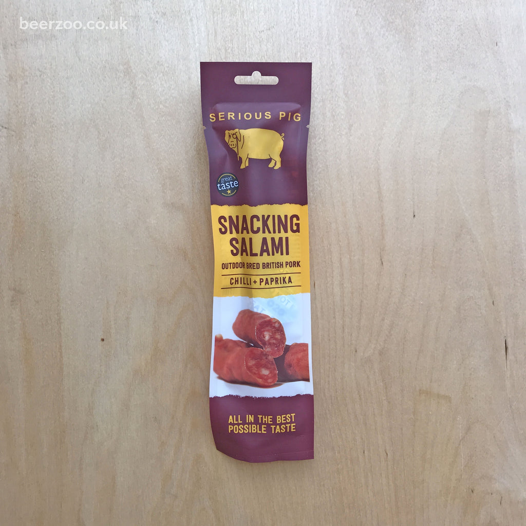 Serious Pig Snacking Salami 'Chilli & Paprika' (28g)