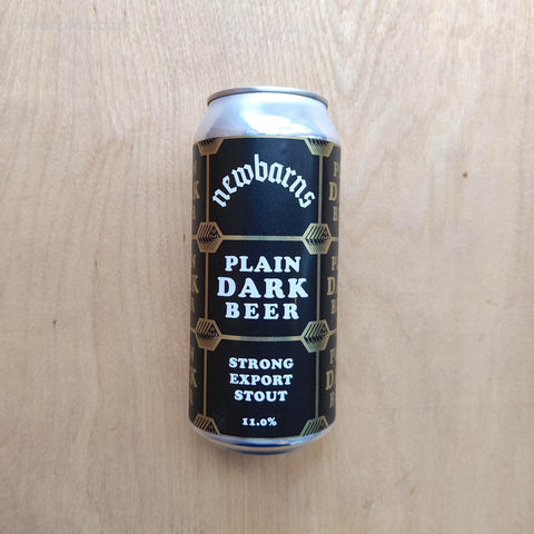 Newbarns - Plain Dark Beer 11% (440ml)