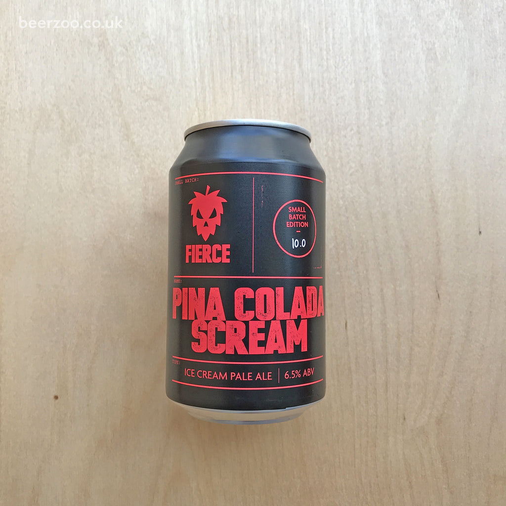 Fierce Beer Pina Colada Scream 6.5% (330ml)