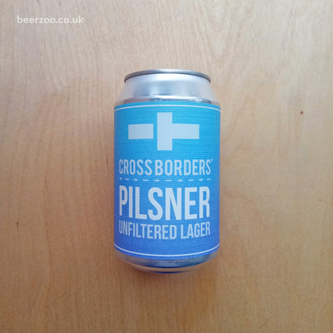 Cross Borders - Pilsner 4.3% (330ml)