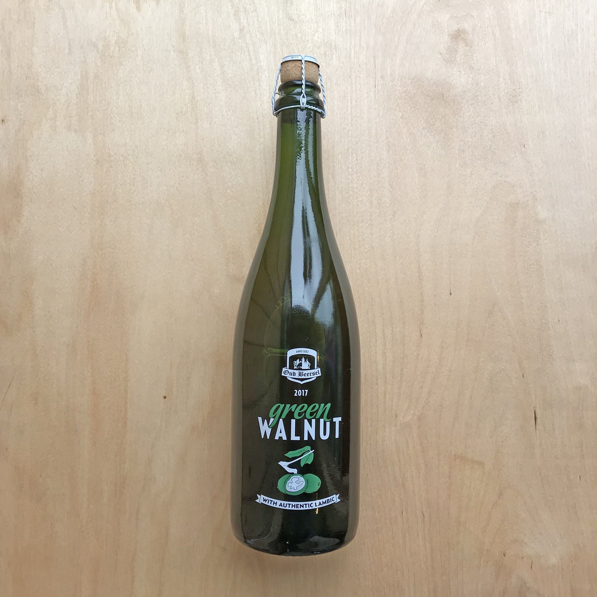 Oud Beersel Green Walnut 6% (750ml)