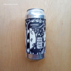Verdant - People, Money, Space, Time 3.8% (440ml)