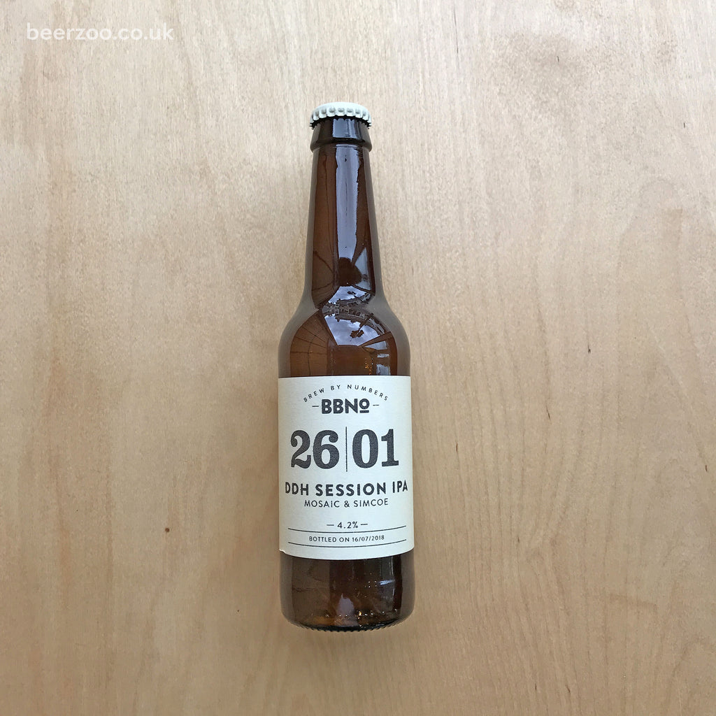 BBNo 2601 DDH Session IPA 4.2% (330ml)