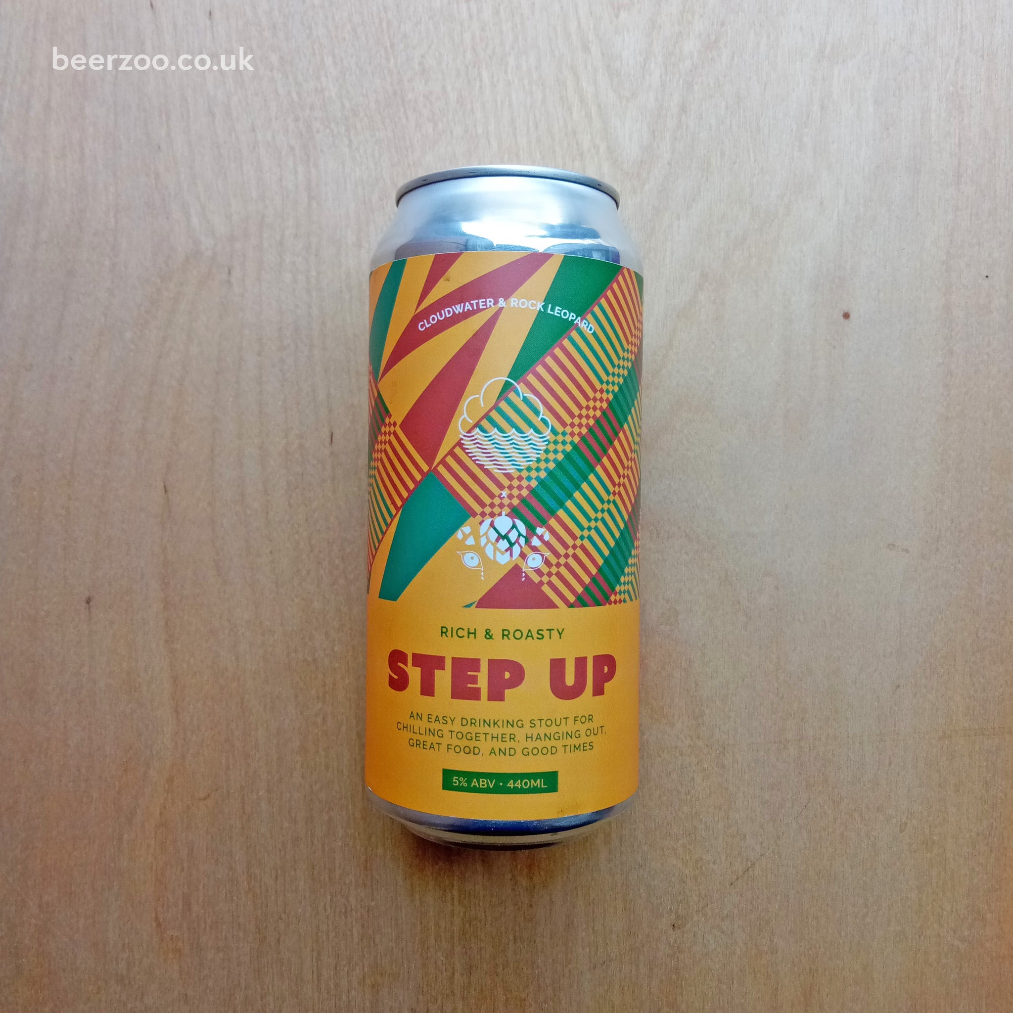 Rock Leopard / Cloudwater - Step Up 5% (440ml)