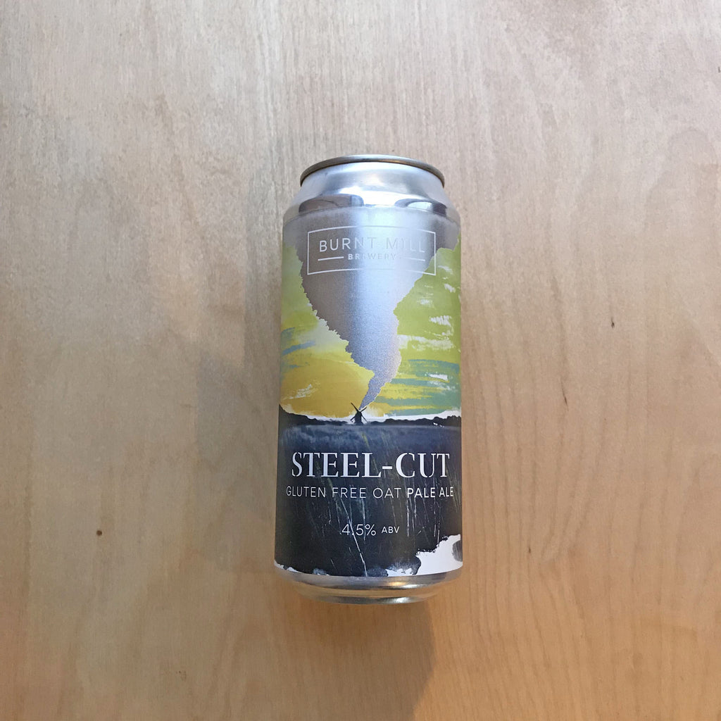 Burnt Mill Steel Cut GF 4.5% (440ml)