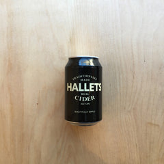 Hallets Cider 5% (330ml)