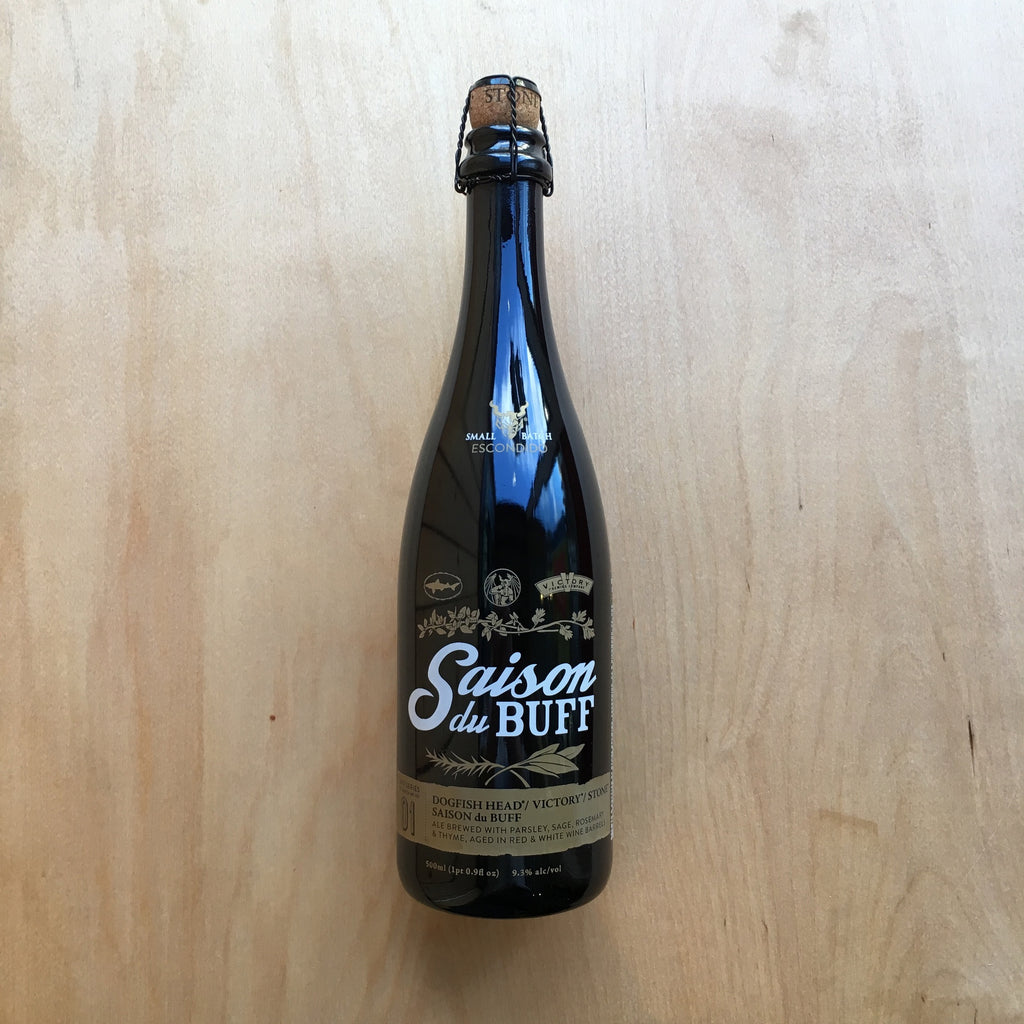 Stone / Dogfish Head / Victory BA Saison du BUFF 9.3% (500ml)