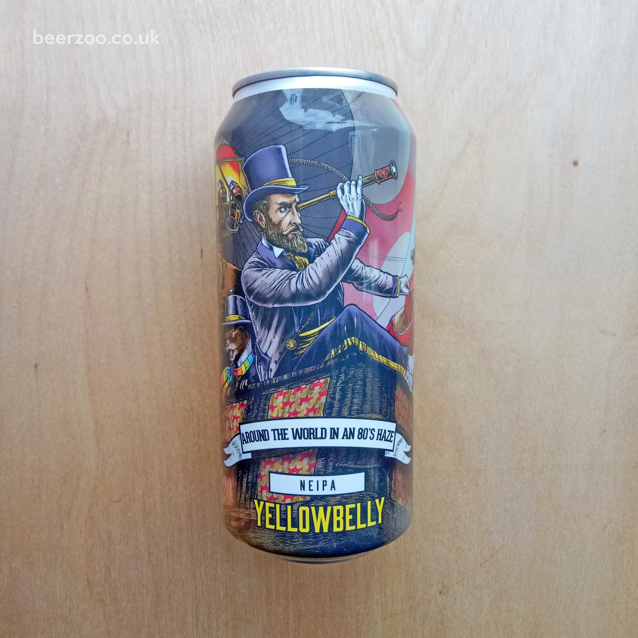 YellowBelly - Around The World In An 80's Haze 6.9% (440ml)