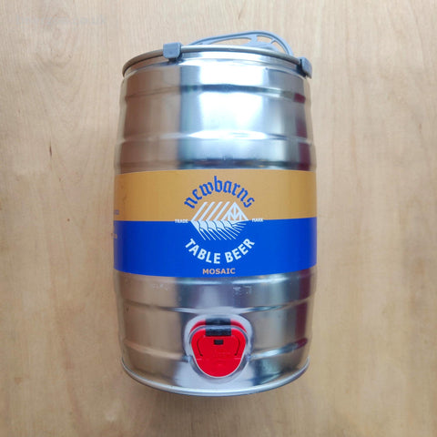 Newbarns Table Beer Mini Keg (Shipping Paid) 3% (5L)