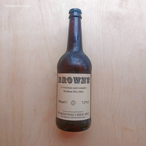 Dunkertons - Browns Organic Cider 7.5% (500ml)