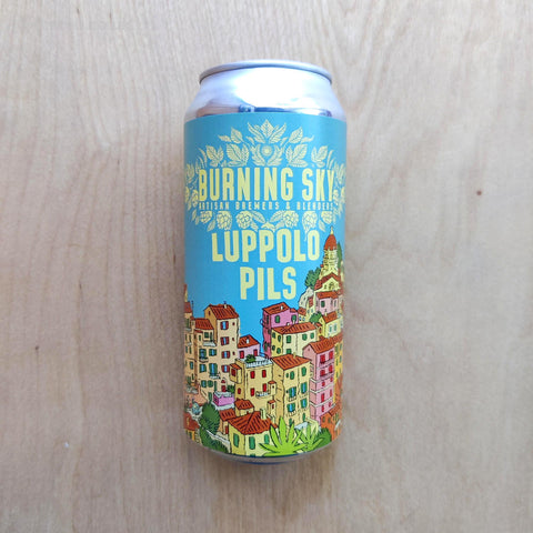 Burning Sky - Lupello Pils 5.2% (440ml)
