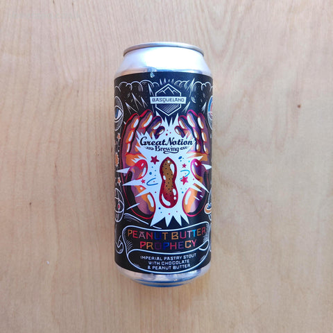 Basqueland / Great Notion - Peanut Butter Prophecy 11.5% (440ml)
