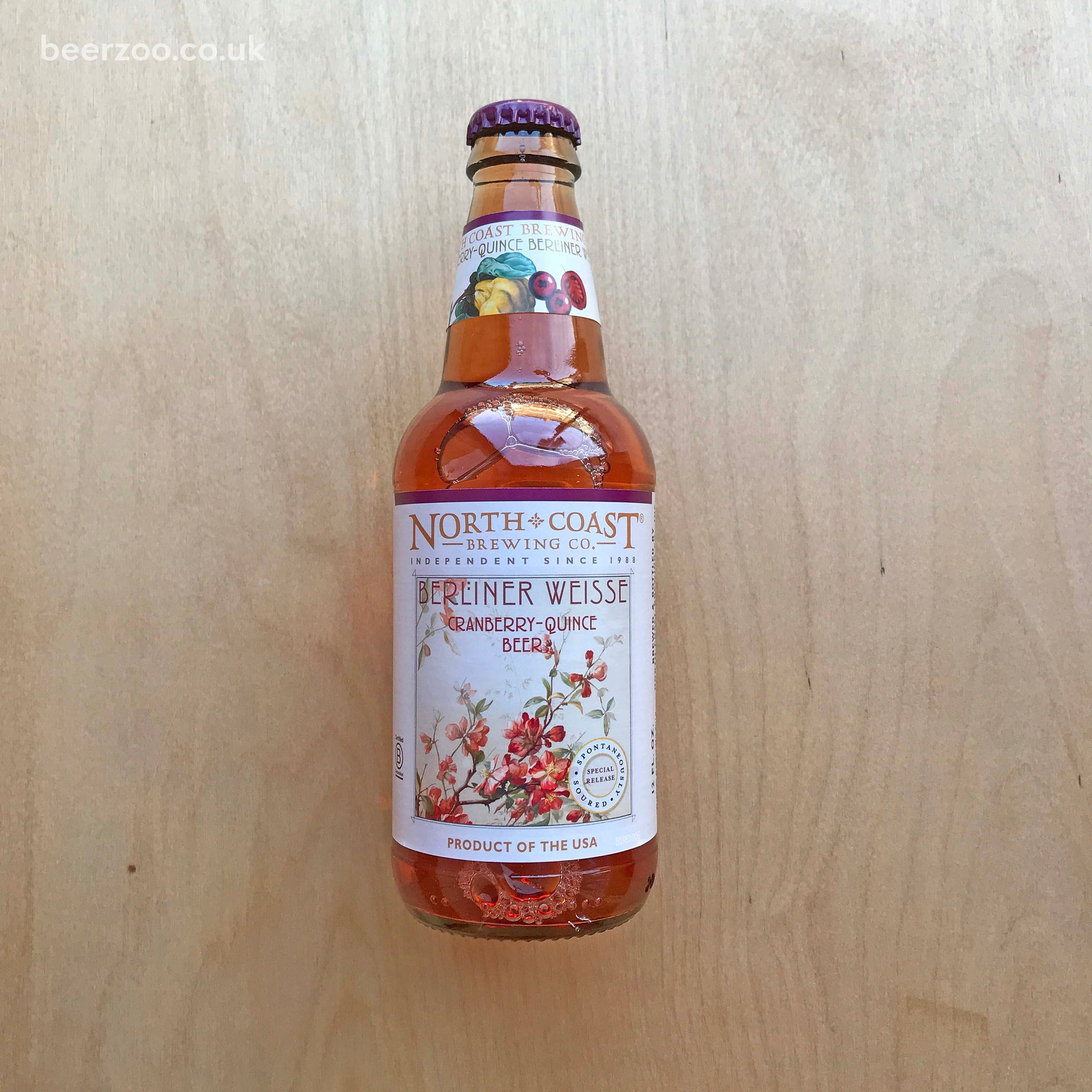 North Coast - Berliner Weisse Cranberry Quince 4.1% (355ml)