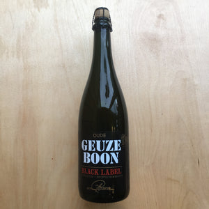 Boon - Oude Geuze Black Label 6.4% (750ml)