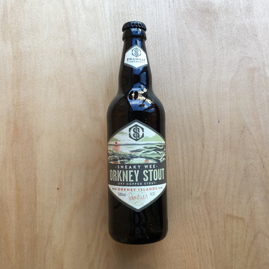 Swannay Sneaky Wee Orkney Stout 4.2% (500ml)