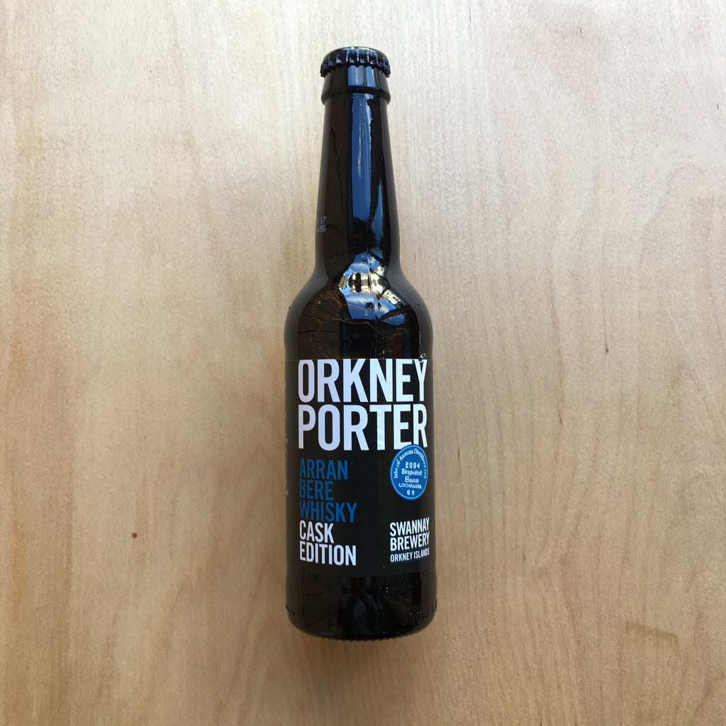 Swannay Barrel Aged Orkney Porter (Isle of Arran) 11.5% (330ml)