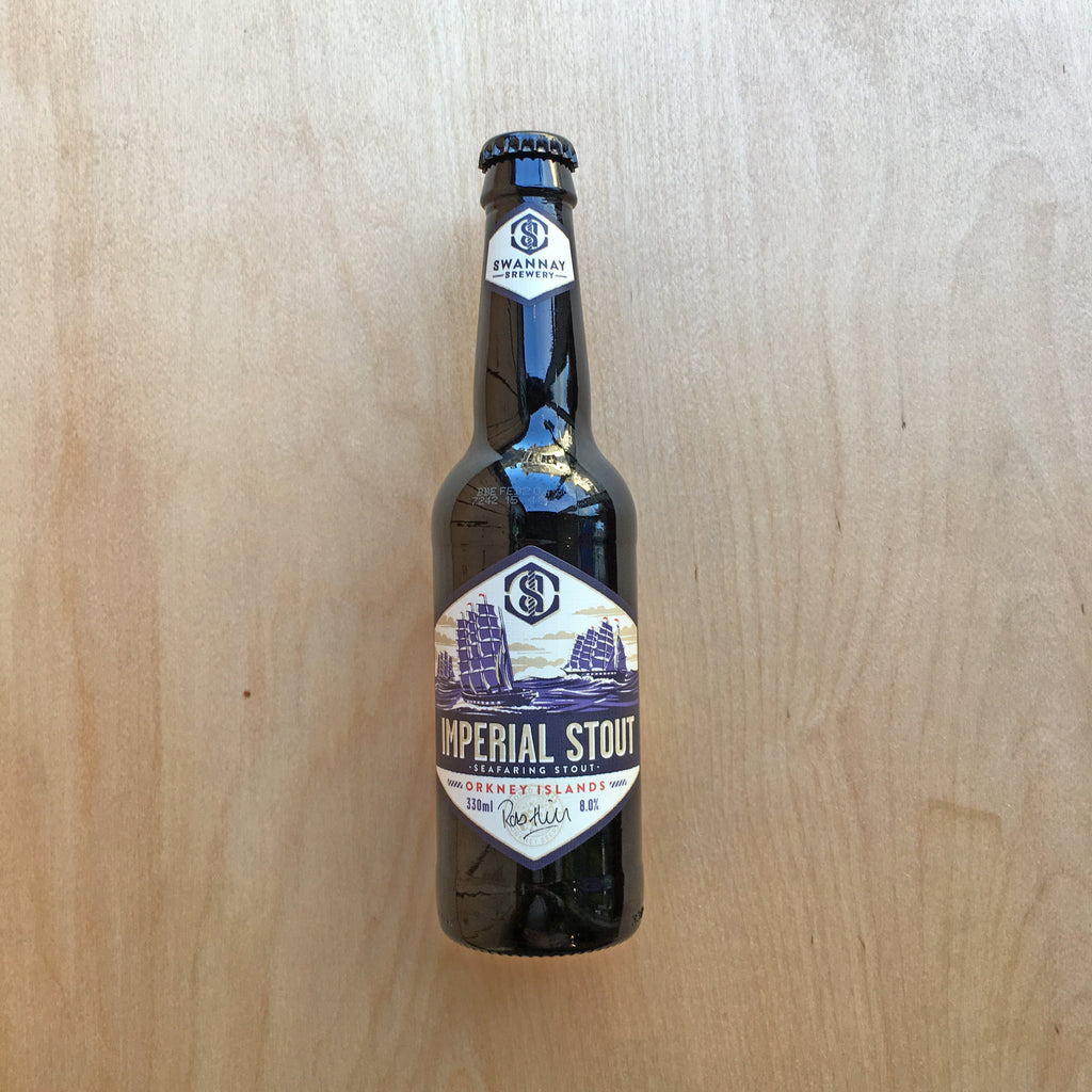 Swannay Imperial Stout 8% (330ml)