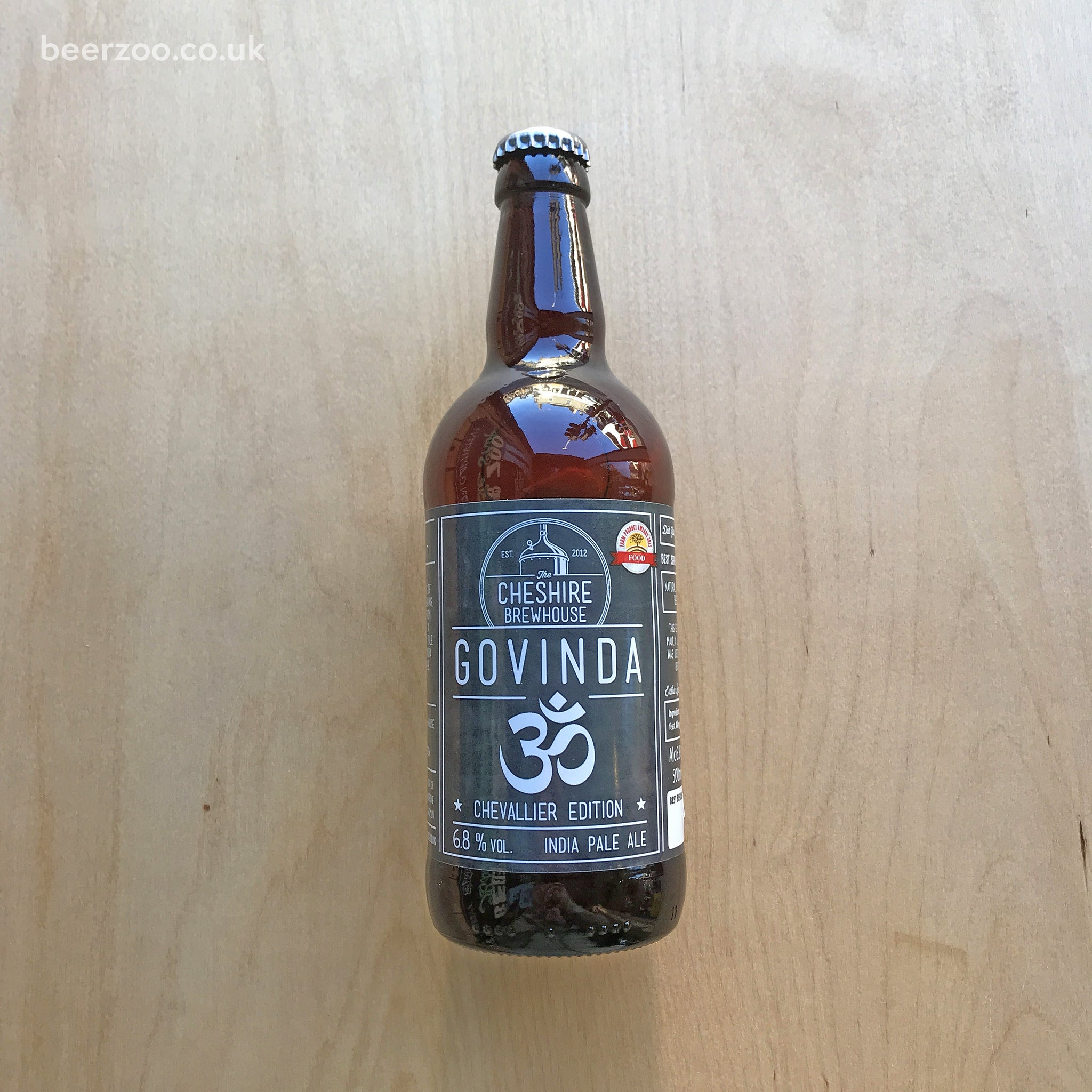 Cheshire Brewhouse - Govinda IPA, Chevalier Edition 6.8% (500ml)