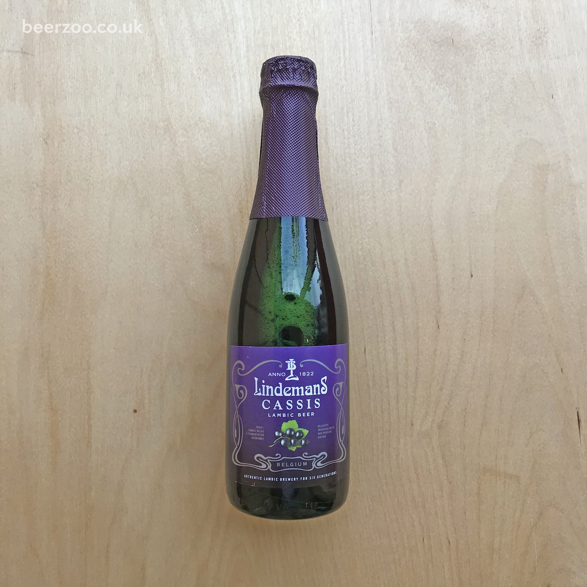 Lindemans Cassis 3.5% (375ml)