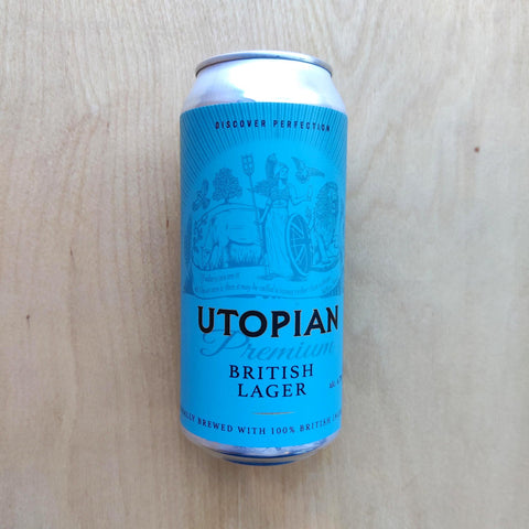 Utopian - Premium British Lager 4.7% (440ml)
